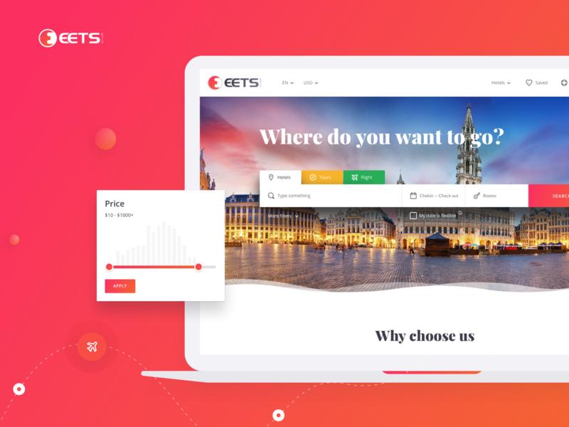 Booking Platform travel booking system booking design web interface ui ux