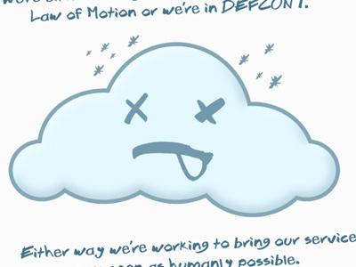 Fail Cloud fail whale cloud