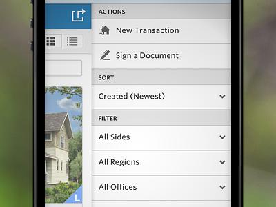 Mobile Web Actions Nav ui interface navigation mobile