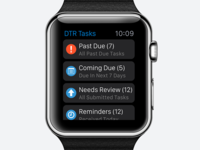 Tasks app for Apple Watch