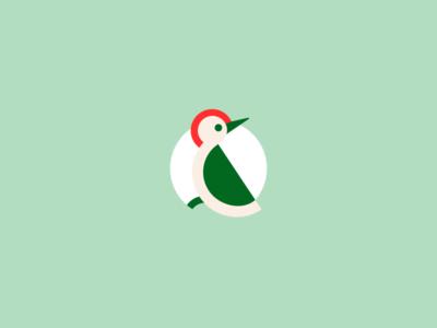 Taptap woodpecker logo
