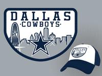 Cowboys Skyline Patch