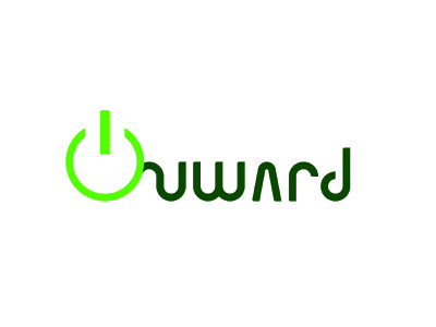 Daily Logo Challenge - Day 5 - Self Driving Car Company Onward vector typography logo design logodesign logo illustrator design dailylogochallenge branding