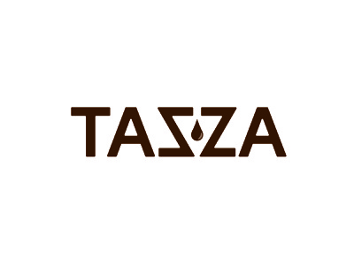 Daily Logo Challenge - Day 6 - Tazza Coffee daily logo challenge vector logo design logo illustrator design dailylogochallenge branding