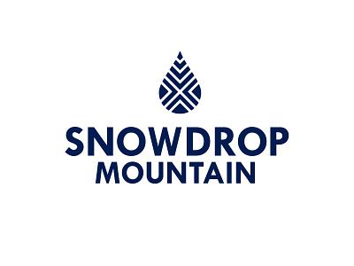 Snowdrop1 100 typography icon vector logodesign logo design logo illustrator design dailylogochallenge branding