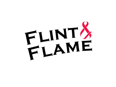 Daily Logo Challenge - Flint & FLame daily logo challenge logodesign logo design logo illustrator design dailylogochallenge branding flame logo
