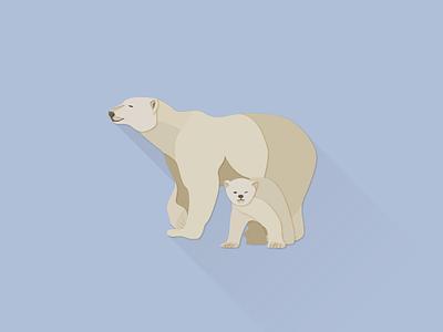 Polar Bear works illustrator