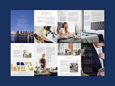 The Sebel Residences Brochure Design branding design print brochure design