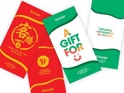 Kloopr Envelope Design design branding envelope