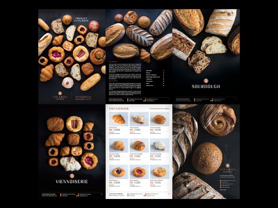 The Grain Emporium Catalogue Design design food and drink catalogue branding
