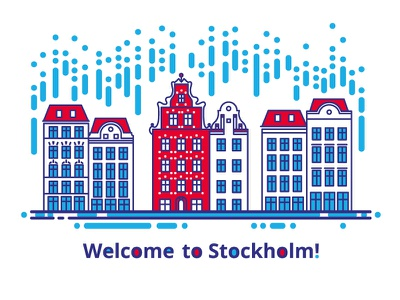 Welcome to Stockholm! europe city building architecture sweden stockholm