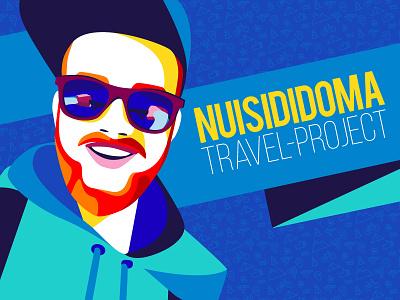 NUISIDIDOMA portrait travel people illustration