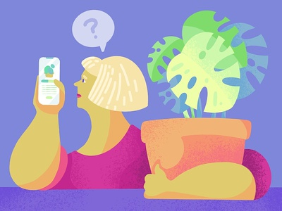 Procreate exploration color plant ipad procreate people illustration