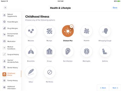 Medicare App - Patient 💊 medicare appointment allergies health app search calendar diagnose booking patient doctor medical app