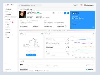 Patient Profile Management patient dashboard doctor dashboard patient management medical history health secretary dashboard clinical management clinical dashboard medical dashboard patient profile dashboard patient doctor medical