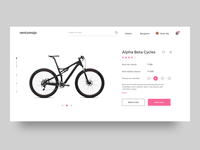 Rentomojo - Product Page Redesign