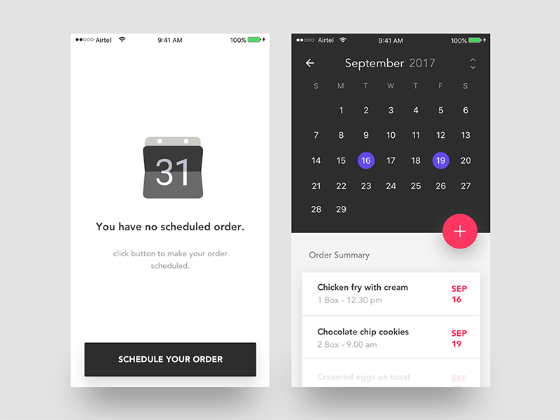 35 fresh app concepts inspired by material design
