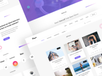 Bloggers Wordpress page - Free Theme