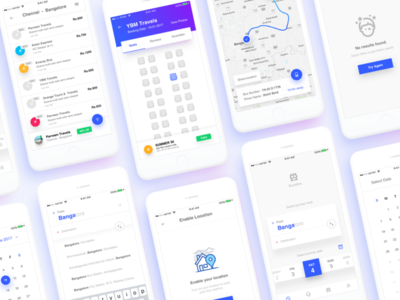 Bussline ticket booking app