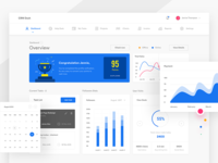 User Dashboard - Profile Completion payment sales user management settings account graphs plans calendar task chart profile dashboard