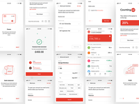 Countingup banking app screens
