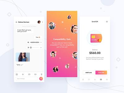 Dating app project on boarding dating dating app camera send money friends bae app friend finder network invite money