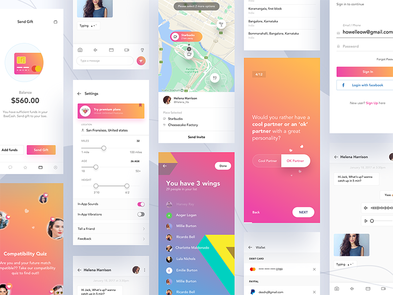 Dating app project by Divan Raj