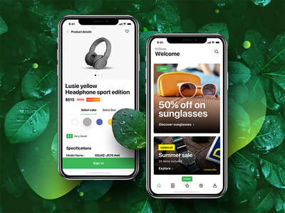 Download e-commerce shopping app UI Kit cards product page shopping app shopping ui kit iphonex ecommerce app ecommerce ios app ecommerce ui kit ui kit app