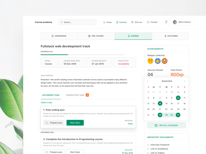 Online Course Designs Themes Templates And Downloadable Graphic Elements On Dribbble