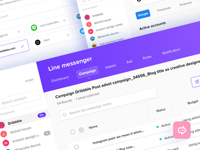 Ad manager websites dashboard adset ad manager campaign profile landing page