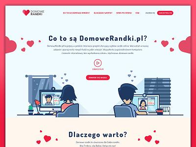 domowerandki.pl enlive michanczyk michal responsive home date design website layout