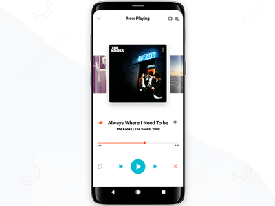 Google Play Music-Redesign Concept