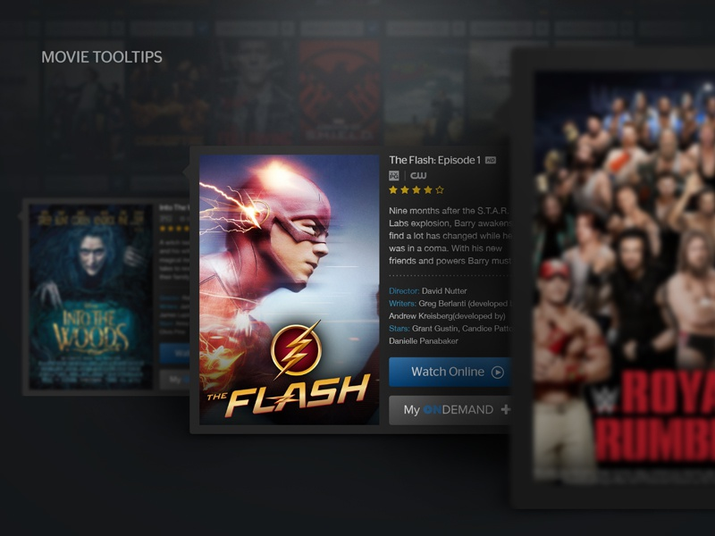Movie Details Card Ui By Carlos Ramos On Dribbble