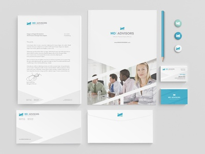 Stationery Design corporate healthcare medical logo graphic design behance design brand identity brand design branding stationery