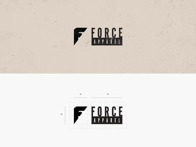 Force Apparel Logo Brand