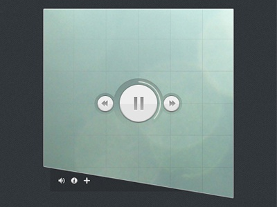 Soundcloud Audio Player Concept soundcloud music player audio player audio interface ui design