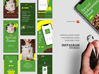 Podcast instagram stories & posts podcast logo pod talk podcast art podcast spotify ebook design ebook vegetarian vegan food veganism vegan branding mobile ecommerce design illustration clean ux ui