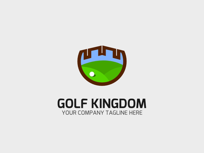 Golf Kingdom highlight icon web graphic design branding design android app illustration branding ios art ux ui mobile minimal icon flat vector logo clean etsy
