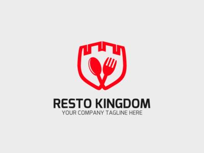 Red Resto branding highlight icon web graphic design ios branding design app vector logo illustration android art ux ui mobile minimal icon flat etsy clean