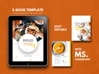 Recipe Ebook Template Editable Using Microsoft PowerPoint