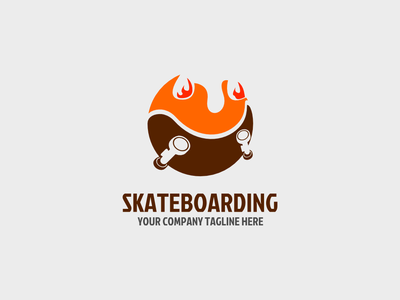 Daily Skateboard Indonesia! fire grind skateboard ecommerce graphic design branding app vector android ios art illustration mobile ux ui minimal icon flat logo clean