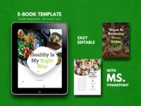 Vegan Theme Recipe eBook Design