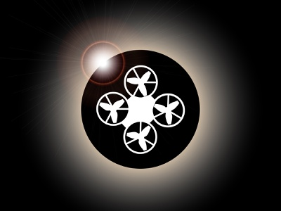Eclipse Drones Logo youtube logo instagram vector logo icon graphic design drone logo drone branding design