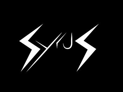 SyrusFPV Logo font letters letter logos logodesign logo design logotype lettering typography logo drone logo drone branding design