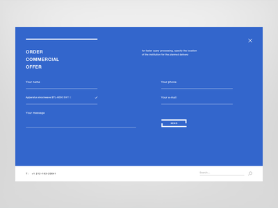 MEAMED — order offer popular design creative medicine medical digital e-commerce minimalistic shop ux ui commercial order form web website clean modern blue interactive