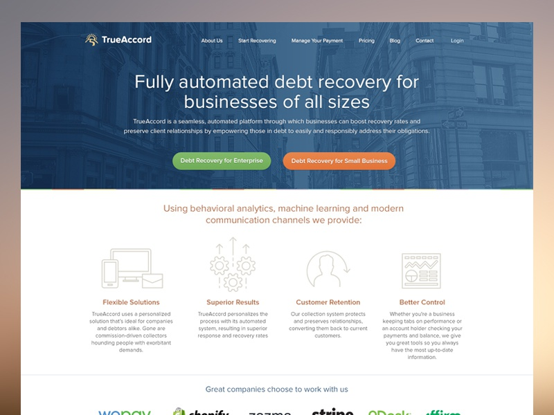 Truaccord Homepage