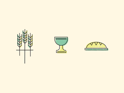 Wheat, cup and bread bread cup wheat illustrations conference