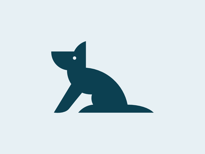 Canis animals dog logo illustration