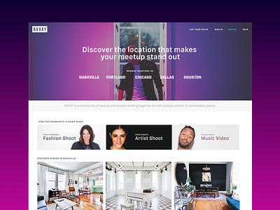 AVVAY Refresh marketplace design visual avvay
