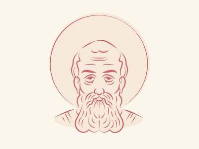 Athanasius Of Alexandria ⛪ red illustration ancient christianity athanasius